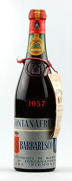 Wein 1957 Barbaresco Fontanafredda
