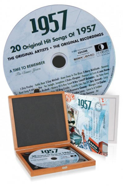 CD 1957 Musik-Hits in Luxusbox