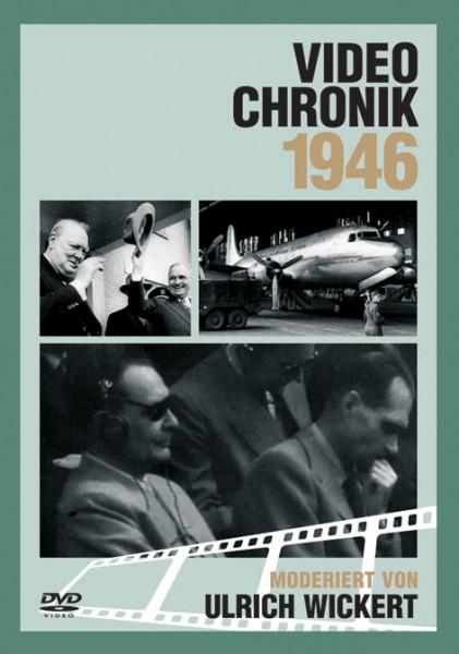 DVD 1946 Chronik Deutsche Wochenschau in Holzkiste