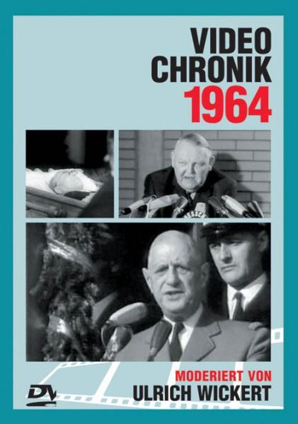 DVD 1964 Chronik Deutsche Wochenschau in Holzkiste