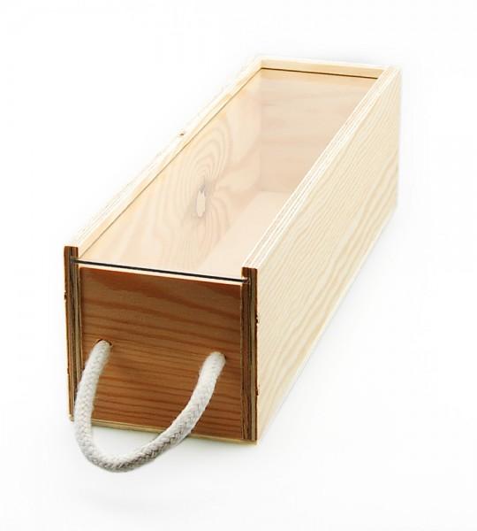 holzkiste mit plexiglas deckel g nstig bei jagaro kaufen. Black Bedroom Furniture Sets. Home Design Ideas