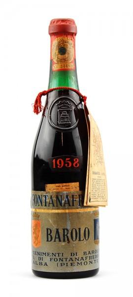 Wein 1958 Barolo Fontanafredda