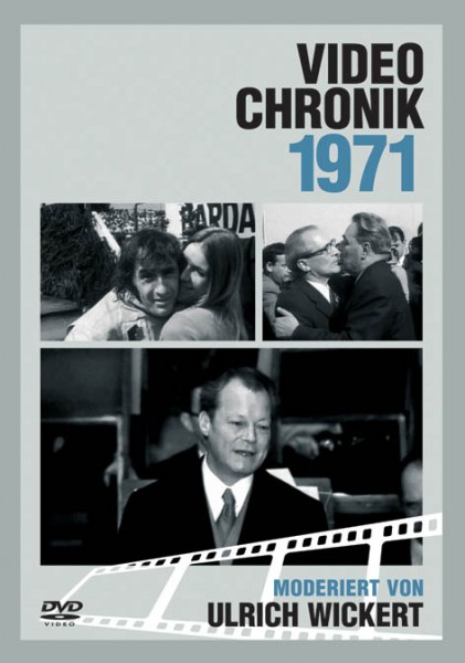 DVD 1971 Chronik Deutsche Wochenschau in Holzkiste