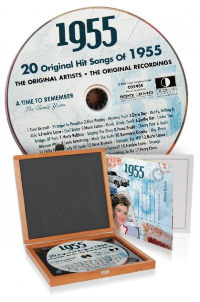 CD 1955 Musik-Hits in Luxusbox