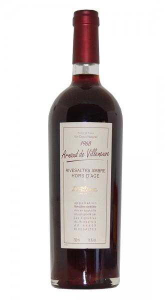 Wein 1968 Rivesaltes Arnauld de Villeneuve