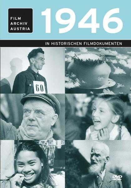 DVD 1946 Chronik Austria Wochenschau in Holzkiste