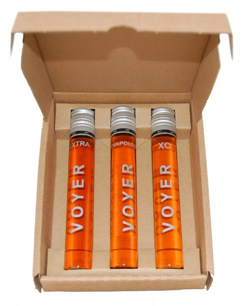 Cognac Voyer Verkostungs-Set