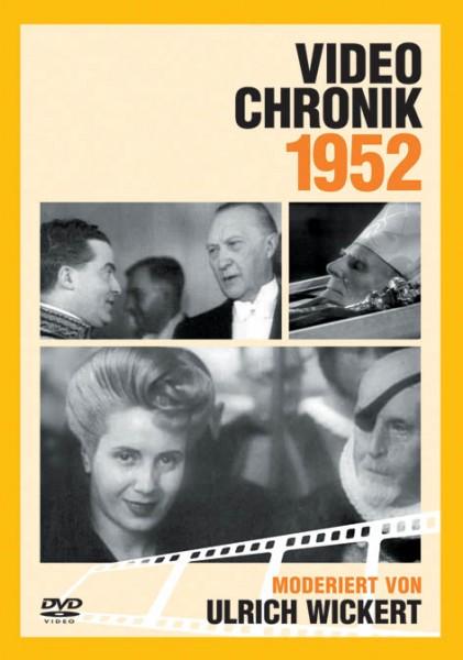 DVD 1952 Chronik Deutsche Wochenschau in Holzkiste