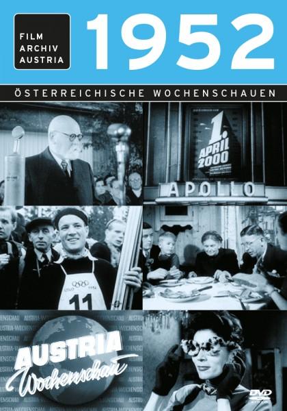 DVD 1952 Chronik Austria Wochenschau in Holzkiste