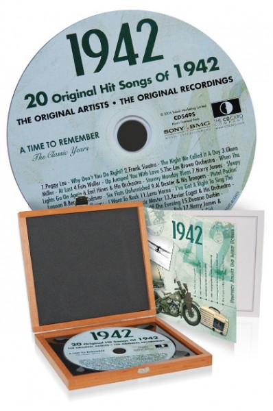 CD 1942 Musik-Hits in Luxusbox