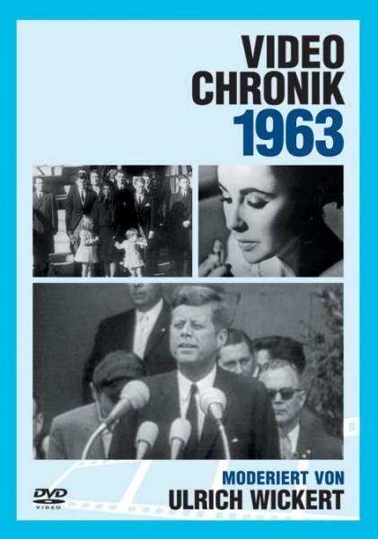 DVD 1963 Chronik Deutsche Wochenschau in Holzkiste