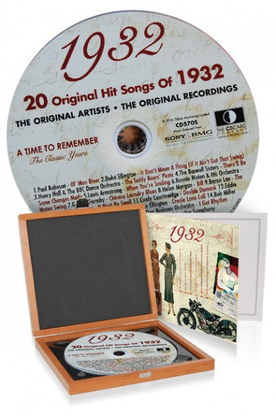 CD 1932 Musik-Hits in Luxusbox