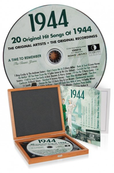 CD 1944 Musik-Hits in Luxusbox