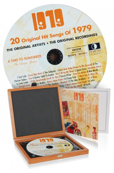 CD 1979 Musik-Hits in Luxusbox