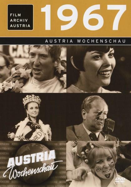 DVD 1967 Chronik Austria Wochenschau in Holzkiste