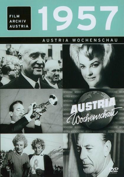 DVD 1957 Chronik Austria Wochenschau in Holzkiste