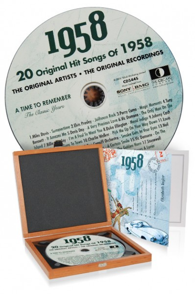 CD 1958 Musik-Hits in Luxusbox