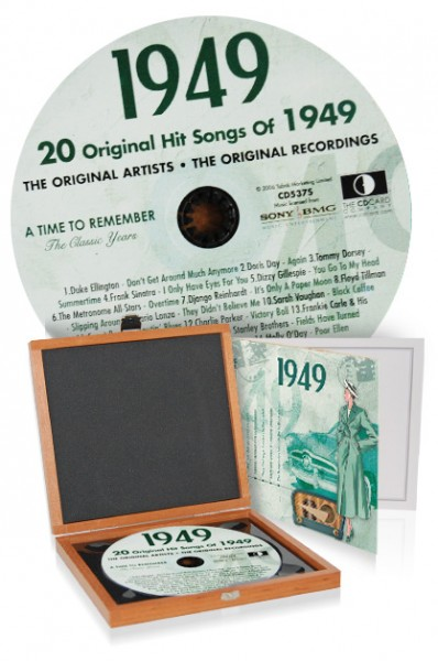 CD 1949 Musik-Hits in Luxusbox
