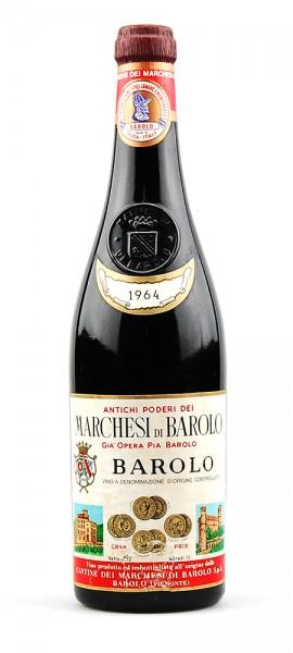 Wein 1964 Barolo Marchesi di Barolo Gia Opera