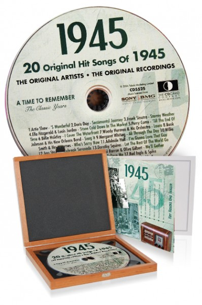 CD 1945 Musik-Hits in Luxusbox