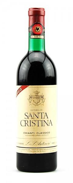 Wein 1968 Chianti Classico Santa Cristina Antinori