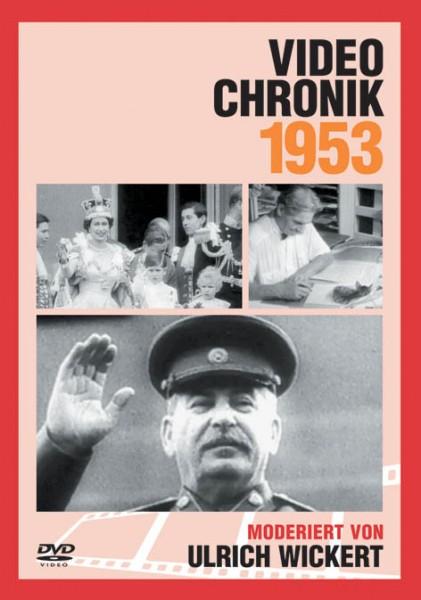 DVD 1953 Chronik Deutsche Wochenschau in Holzkiste