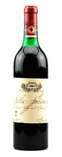 Wein 1957 Chianti Classico Riserva Villa Antinori