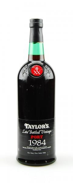 Portwein 1984 Taylors Late Bottled Vintage Port