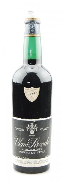 Wein 1964 Vino Passito Liquoroso Poggio de Cenci