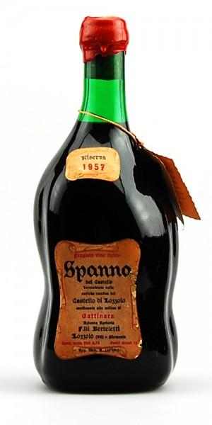 Wein 1957 Spanna Riserva Castello di Lozzolo Berteletti