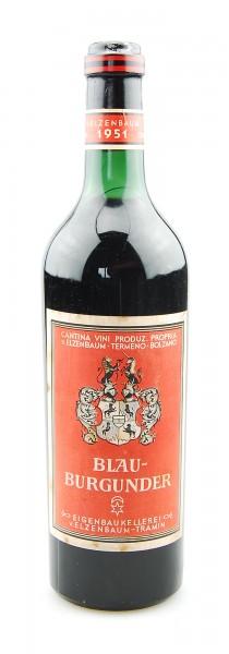 Wein 1951 Blauburgunder Kellerei von Elzenbaum