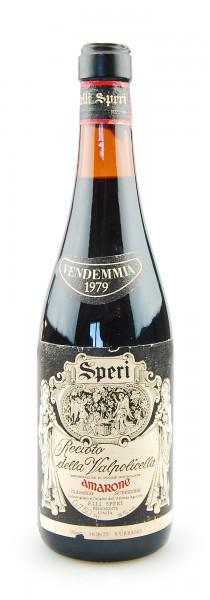 Wein 1979 Amarone Recioto della Valpolicella Speri