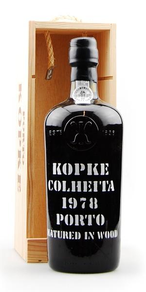 Portwein 1978 Kopke Colheita