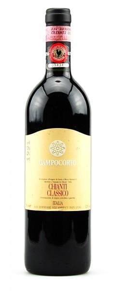Wein 1991 Chianti Classico Campocorto