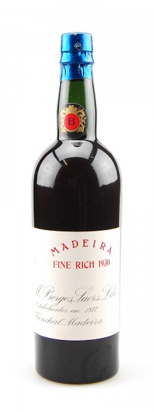 Madeira 1930 Fine Rich Borges