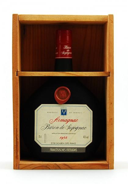 Armagnac 1956 Armagnac Baron de Sigognac