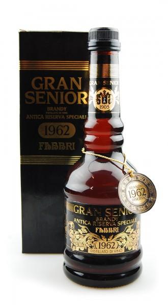 Brandy 1962 Antica Riserva Speciale Gran Senior Fabbri