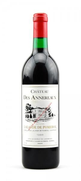 Wein 1988 Chateau des Annereaux