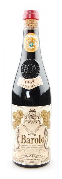 Wein 1962 Barolo Terre del Barolo Riserva