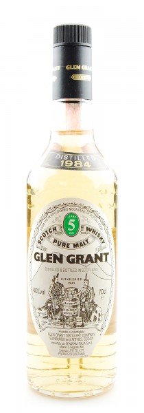 Whisky 1984 Glen Grant Highland Malt 5 years old