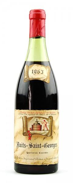 Wein 1963 Nuits-Saint-Georges Berthon