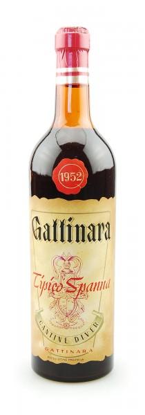 Wein 1952 Gattinara Tipico Spanna Cantine Diver