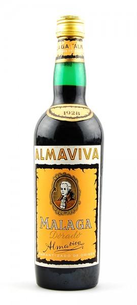 Wein 1928 Malaga Dorado Almaviva