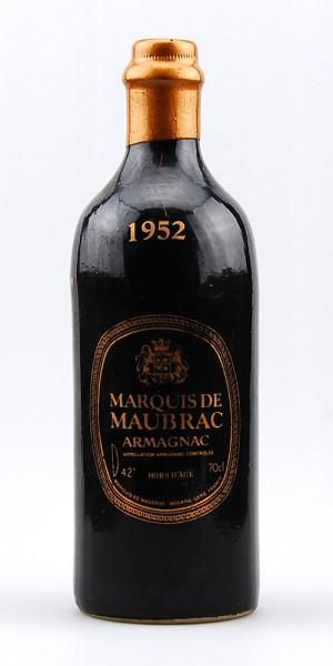 Armagnac 1952 Armagnac Marquis de Maubrac
