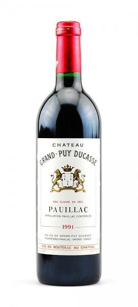 Wein 1991 Chateau Grand-Puy Ducasse 5eme Cru Classe