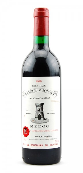 Wein 1990 Chateau Latour St.Bonnet