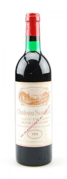 Wein 1978 Chateau Soutard Grand Cru Classe St.Emilion