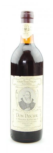 Wein 1978 Don Pascual Reserva Especial