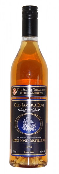 Rum 1986 Old Jamaica Long Pond