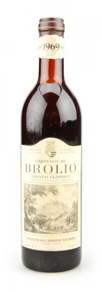 Wein 1969 Chianti Classico Brolio Ricasoli